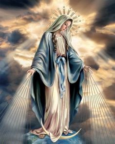 Joji my హార్ట్ Jesus And Mary Pictures, Mother Mary Images, Catholic Pictures, Images Of Mary, Pictures Of Jesus Christ, Mary And Jesus, Jesus Mother, Blessed Mother Mary, Blessed Virgin Mary
