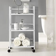 Altra Marshall Three Shelf Rolling Utility Cart | Wayfair Supply