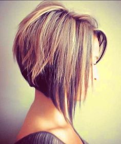 Edgy bob hairstyles!                                                                                                                                                                                 More