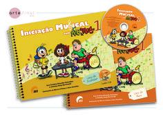 Projeto gráfico, ilustrações em parceria com Márcia d'Haese e rótulo para CD