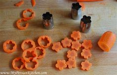 Carrot Flowers