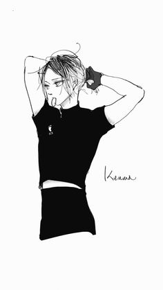 Haikyuu Funny, Haikyuu Manga, Haikyuu Fanart, Kenma Kozume, Kuroken, Kagehina, Hottest Anime Characters, Haikyuu Characters, Haikyuu Ships