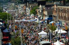 taste of the danforth - Greek food festival in Toronto
