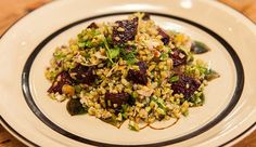 Freekeh Salad with Roasted Beetroot - Good Chef Bad Chef
