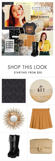 """""""Don't play with me boy"""" by aliicia21 ❤ liked on Polyvore featuring Graham & Brown, GET LOST, Safavieh, Harley-Davidson and Chanel"""