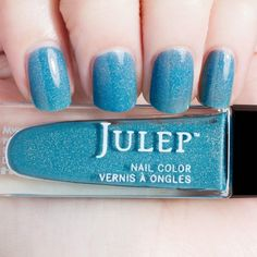 Julep - Tomi (Wonder Maven) Bermuda blue holographic jelly