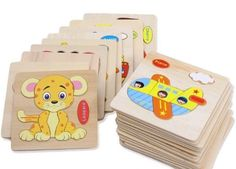Puzzle Crafts, Puzzle Toys, 3d Puzzles, Wooden Puzzles, Baby Learning, Educational Toys, Kids Toys, Free Shipping, Children