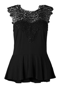 Peplum top Perfect Little Black Dress, Peplum, Outfits, Clothes, Collection, Tops, Party, Dresses, Women