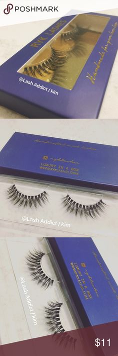 CLEAR ✨ MINK EYELASHES 3D LASHES FUR new lilly New technology, Mink Lashes with an invisible lash band for a more au natural look.  These are Mink Lashes made with an invisible / clear band  ✨SIMILAR TO LILLY LASHES / velour lashes but much better price!✨  Criss cross fur lashes 3D  Price IS FIRM Not negotiable  Retails $45  •100% Real 3D Mink Fur Strip Lashes •Handcrafted High Quality Lashes •Will last up to 25 applications, handle with care. •All pictures are mine @Lash Addict/Kim  No Glue…