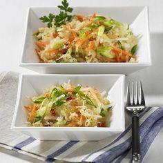 Asiatischer Sauerkrautsalat Rezept | LECKER