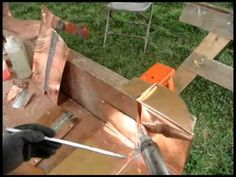 TRADITIONAL ROOFING MAGAZINE - Soldered Seam Flat-Lock Copper Roofs