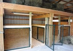 New Stronger, Configurable Goat Pens For show lambs, pigs and if made a bit bigger maybe a show calf Barn Stalls, Horse Stalls, Horse Barns, Horses, Goat Barn, Farm Barn, Goat Shed, Goat Shelter, Goat House