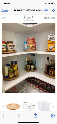 Pantry Interior, Bookcase, Condo, Shelves, Home Decor, Shelving, Decoration Home, Room Decor, Bookcases