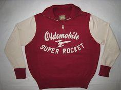 Oldsmobile Super Rocket vintage hoodie