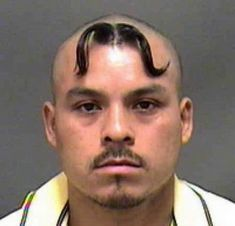 If someone comes into your shop and says they want you to give them 2 moustaches, this is what you should do. #moustaches #crazyhairstyle