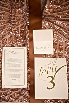 Champagne and Blush Wedding Invitations by ChampagnePress on Etsy