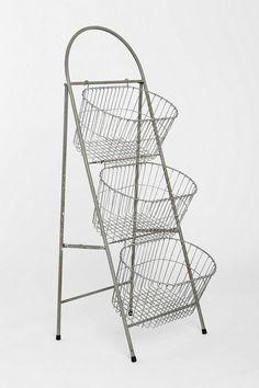 Ladder Storage Basket