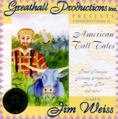 American Tall Tales: Jim Weiss: 9781882513819: Amazon.com: Books