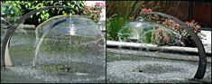 draw a plan unique garden fountain design
