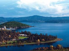 Cour D' Alene Idaho, go to the Cour D' Alene Resort beautiful rooms fire places and a view to die for. Oh The Places You'll Go, Great Places, Places To Travel, Beautiful Places, Places To Visit, Amazing Places, Beautiful Scenery, Places Ive Been, Coeur D Alene Lake