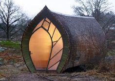 Formidable : La Suède présente sa cabane au milieu des bois!