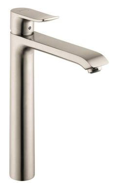 View the Hansgrohe 31183 Metris Single Hole Bathroom Faucet with Eco Smart, Quick Clean, and ComfortZone Technologies - Drain Assembly Included at FaucetDirect.com.