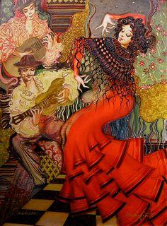 Abraham Saakian-Gypsy dance