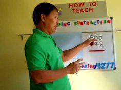 """Basic Math Subtraction Regrouping With Zeroes"""" 5 of 5 / by: john j."""