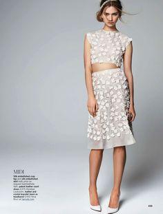 mini v midi: sharon kavjian by walter chin for uk glamour may 2013 | visual optimism; fashion editorials, shows, campaigns & more!