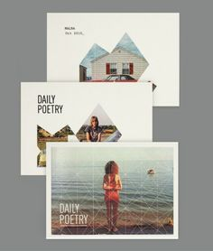 Daily Poetry #Layout #Design #Magazine #Editorial