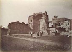 1866/70 Altobelli Gioacchino . Tempio di Venere a Roma
