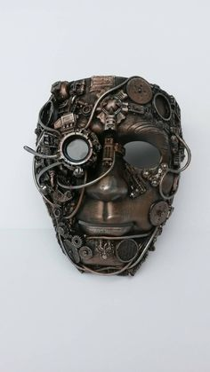 Check out this item in my Etsy shop https://www.etsy.com/uk/listing/207979440/steampunk-bionic-eye-mask