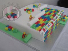 The Lego Cake! - by Gemthecakelady @ CakesDecor.com - cake decorating website