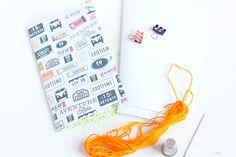 DIY Notebook made by Nikki Sweet Caterpillar