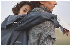 Burberry features knits and outerwear in spring-summer 2017 campaign