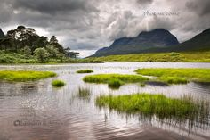 Liathach. Loch Clair. Brief Summer light. Glen Torridon. North West Highlands. Scotland.