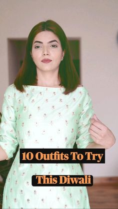 Diy Fashion, Indian Fashion, Fashion Outfits, Fashion Clothes, Fashion Tips, Trendy Outfits For Teens, Casual Outfits, Diwali Outfits, Basic Mehndi Designs