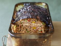 Vegetable Meatloaf with Balsamic Glaze Recipe : Bobby Flay : Food Network - FoodNetwork.com