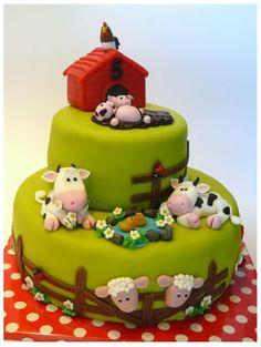 boerderij taart lekker!!!
