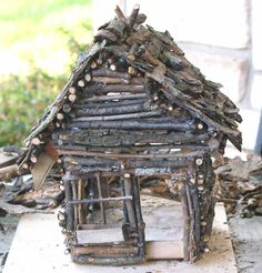 DIY Fairy Gardens - DIY Fairy House Best Picture For winter garden For Your Taste You are looking for something, and - Fairy Crafts, Garden Crafts, Garden Art, Kids Fairy Garden, Fairy Garden Furniture, Fairy Tree Houses, Fairy Garden Houses, Diy Fairy House, Fairy Doors