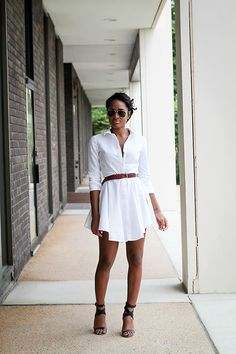 Ashleigh Hutchinson - Tibi Shoes - The Shirt Dress