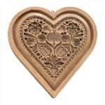 Cake Heart cookie molds