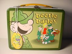 Beetle Bailey Modern Lunch Box