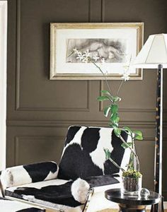 Pinned for the pony print chair. 30 Paint Colors - Ideas for Choosing Paint Color