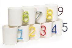 The Spoon Sisters Number Mugs