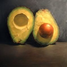 """Split Avocado #2"" Michael Naples"