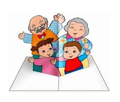 Meravigliose Esperienze: Un'idea per la FESTA DEI NONNI Grandparents Day Crafts, Mothers Day Crafts, Paper Bag Crafts, Preschool Arts And Crafts, Sunday School Crafts, Grandma And Grandpa, Family Crafts, Bible Lessons, My Family