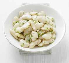 // butter bean salad with lemon