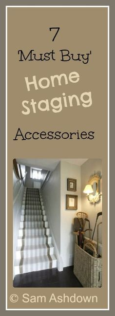 7 must-buy home staging accessories - Home Truths Want to know which accessories will help you sell your house? Click and find out! Sell My House, Up House, Selling Your House, Real Estate Staging, Real Estate Tips, Real Estate Uk, Design Entrée, Do It Yourself Design, Home Staging Tips