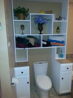 Bathroom ideas on Pinterest Bathroom Storage Bathroom Organization and Bathroom - Diy Small Bathroom Ideas